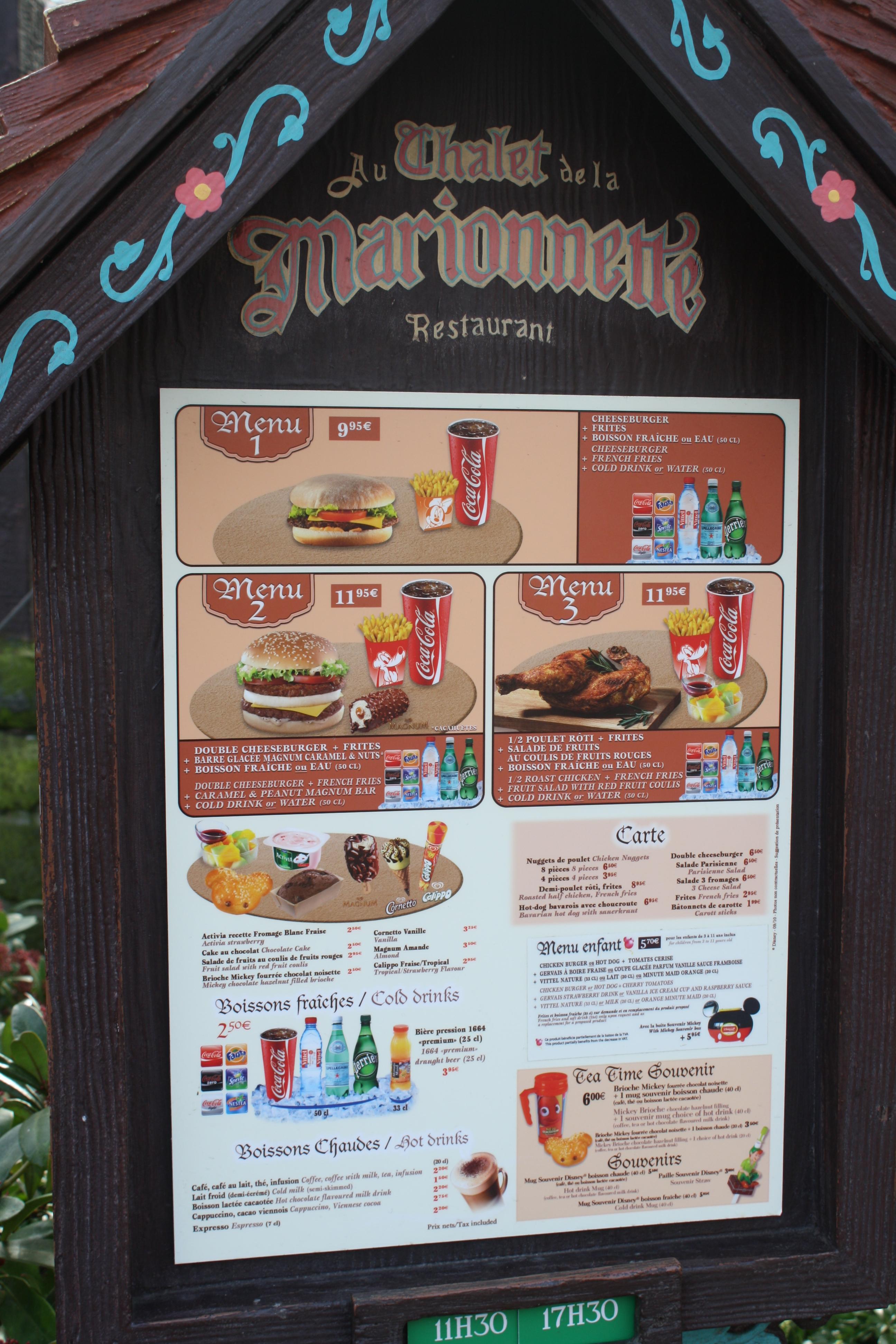 Le Chalet De La Marionnette Disneyland Paris Parce Que