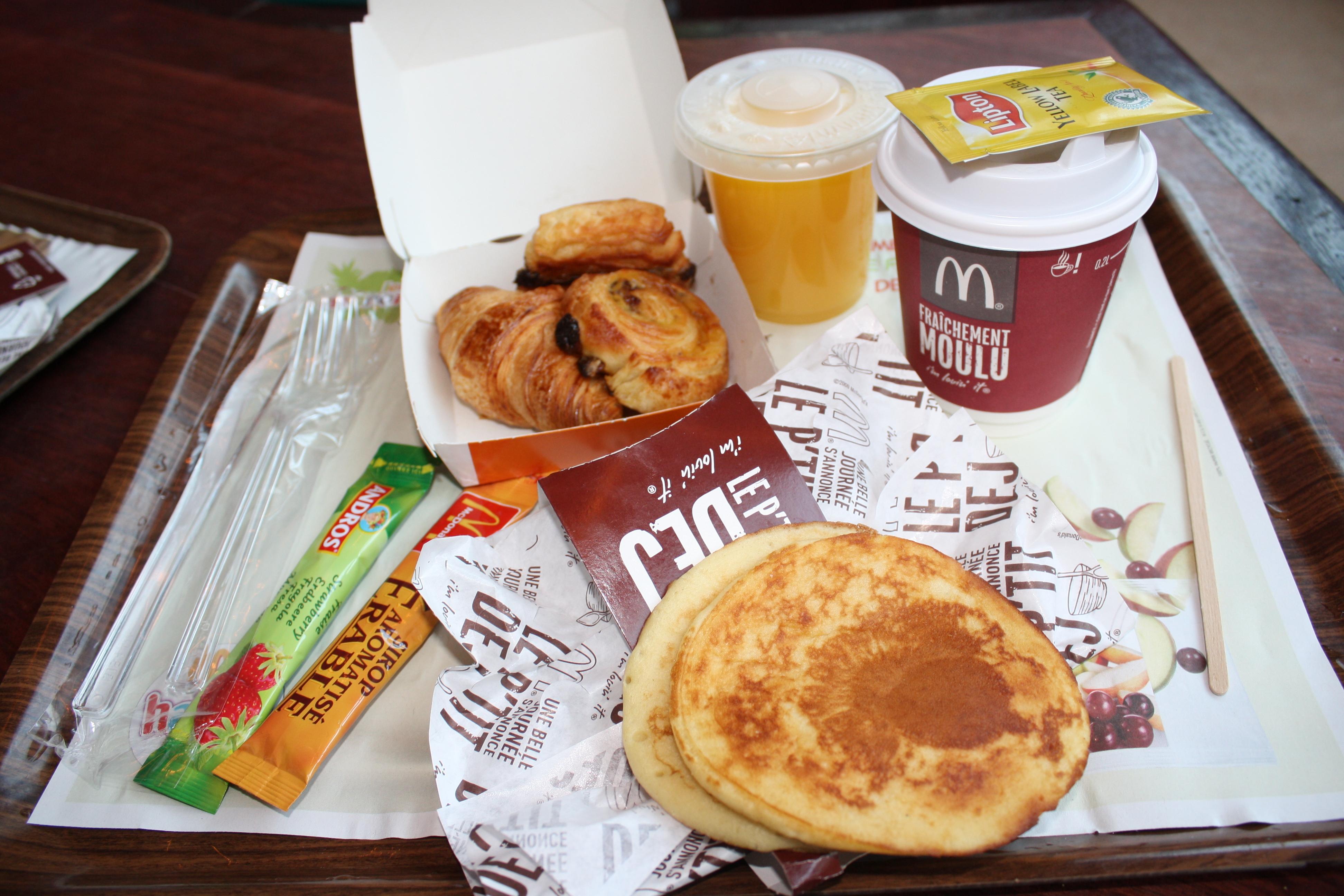 Prix Cafe Mc Do
