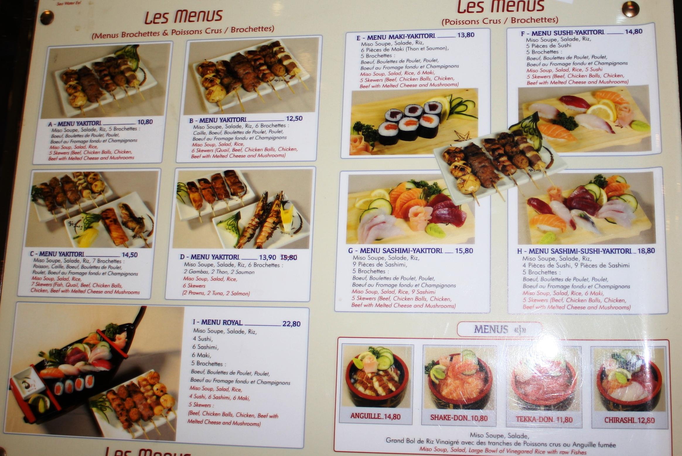 Kyo paris 4 me arrondissement parce que j 39 adore critiquer for Restaurant kyo