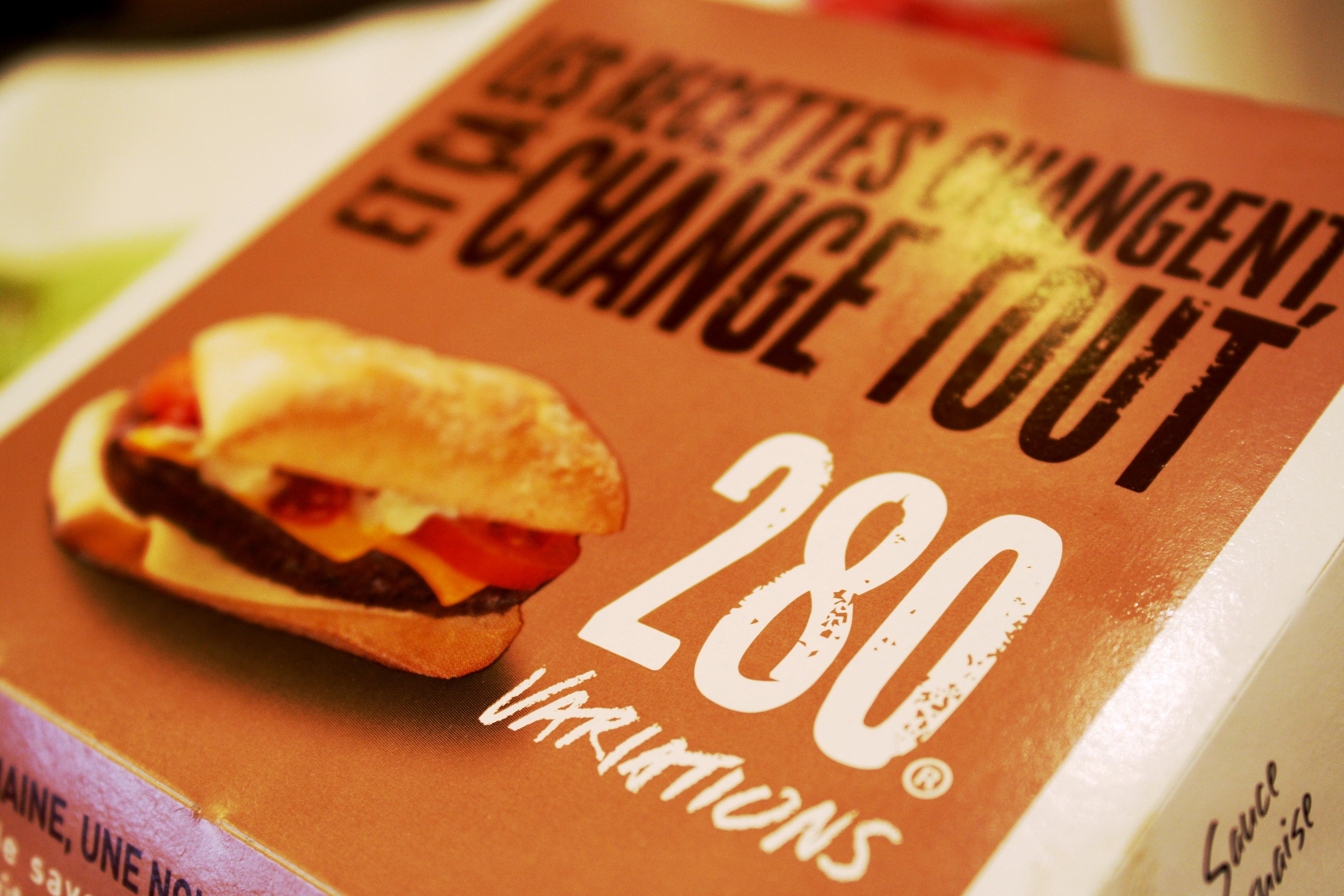 280 pepper mcdonald s parce que j 39 adore critiquer for Allez cuisine foods