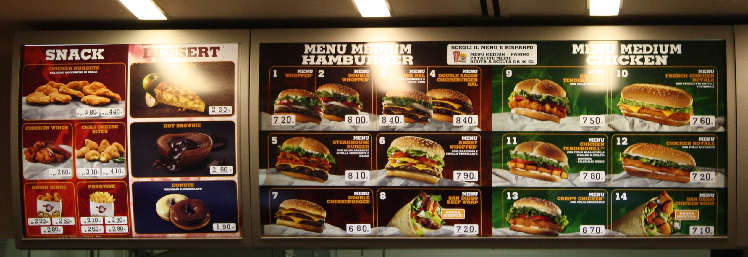 Burger King A 233 Roport Malpensa Milan Parce Que J Adore