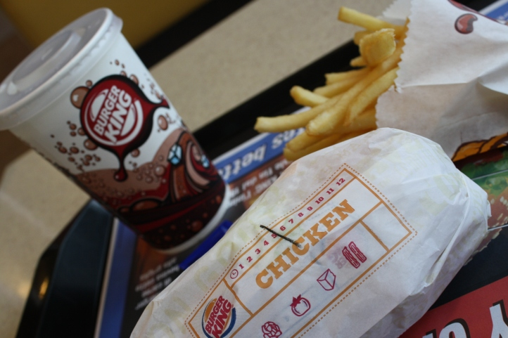 Burger King, aéroport Malpensa, Milan