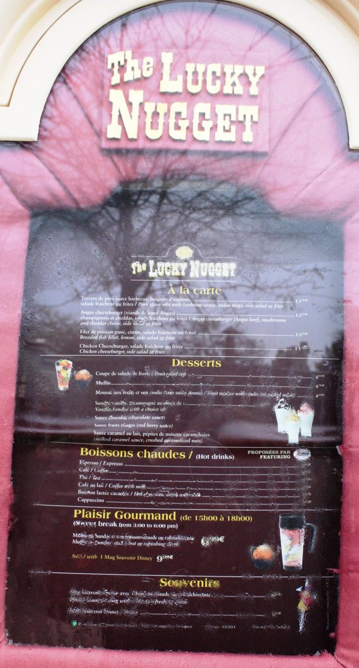 Lucky Nugget, Disneyland Paris