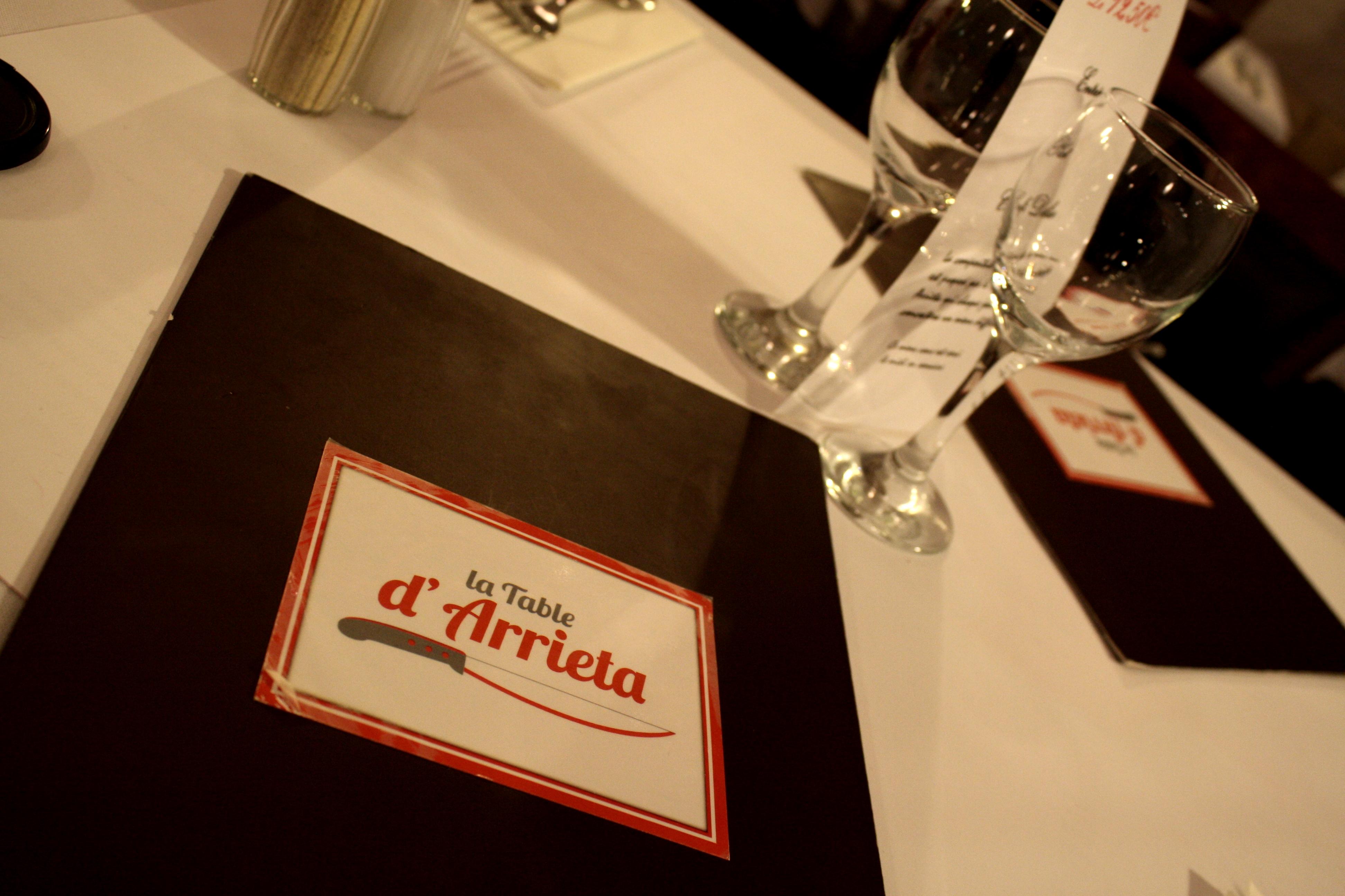 La Table D Arrieta Bordeaux Parce Que J 39 Adore Critiquer