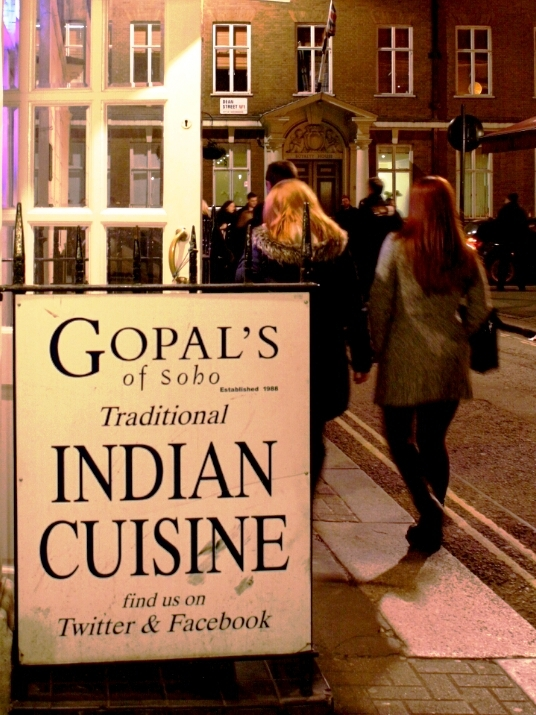 Gopal's of Soho, Londres