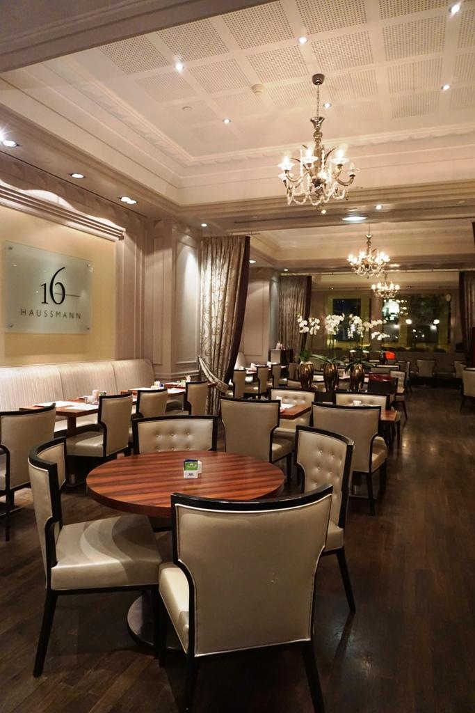 Paris En Italie Haussmann Restaurant