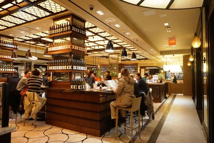The Plaza Food Hall, New York