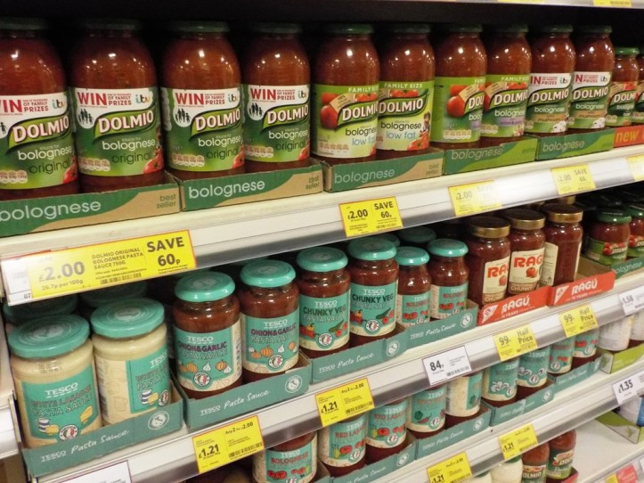 Supermarché Tesco, Londres