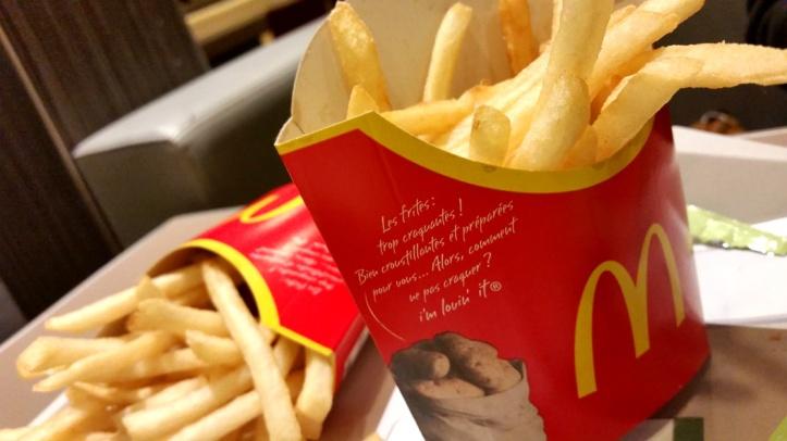Le Bacon & Cheddar fondu, McDonald's