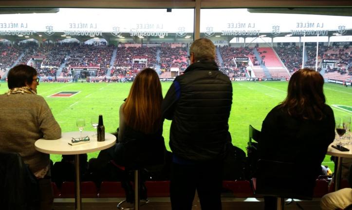 Match du Stade Toulousain en loges - Esprit Traiteur, Tournefeuille
