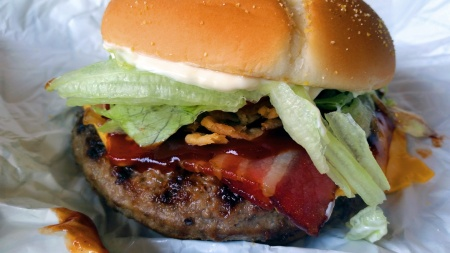 Burger King, McDonald's et KFC - Bangkok - Thaïlande