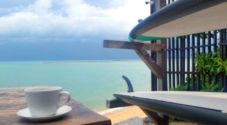 Petit déjeuner à l'Escape Beach Resort, Koh Samui – Thaïlande